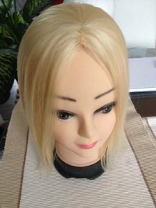 Platinaszőke 10x10 pepi női fejtetődúsítás fejtetősűrítés Pepi póthaj